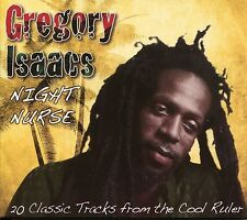 GREGORY ISAACS NIGHT NURSE CD - LONELY MAN, TOO LATE & MORE
