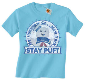 6881ab222 Image is loading Stay-Puft-Marshmallow-Man-Ghostbusters-Inspired-Kids-T-