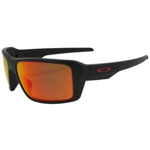 746d4e7b3e Oakley OO 9380-0566 POLARIZED DOUBLE EDGE Matte Black Prizm Ruby ...