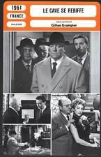 LE CAVE SE REBIFFE - Gabin,Blier(Fiche Cinéma) 1961 - Counterfeiters of Paris