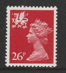 GB-Wales-1982-Regional-Machin-26p-SG-W61-MNH