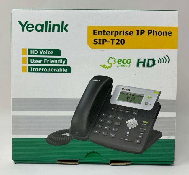 Yealink Enterprise IP PHONE SIP-T20P NEW