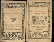 DE BALZAC ONORATO LES CONTES DROLATIQUES FORMAGGINI 1925-28 CLASSICI DEL RIDERE