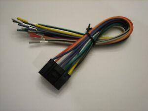 BOSS PLANET AUDIO 16-PIN RADIO WIRE HARNESS STEREO POWER PLUG   eBayeBay