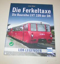 Lok Legenden - Die Ferkeltaxe - Die Baureihe LVT 2.09 der DR - Bildband!