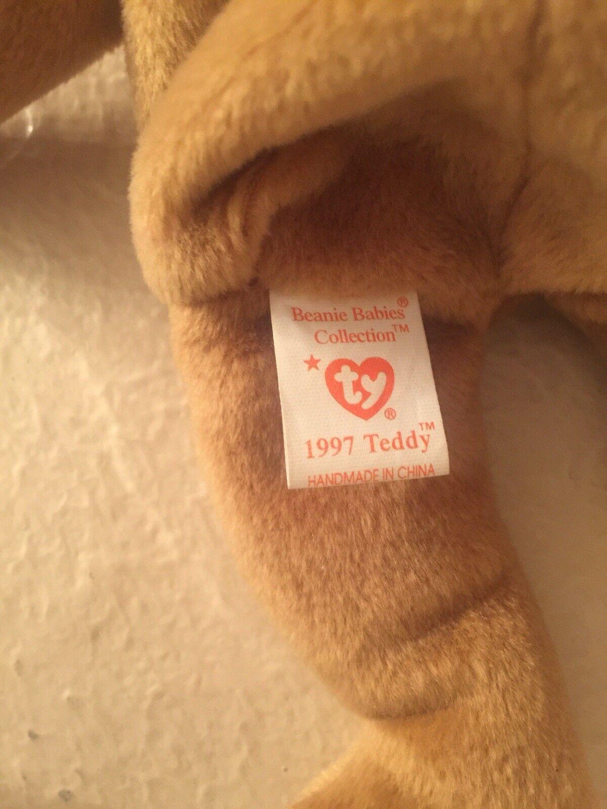 Ty Beanie Baby 1997 Holiday Teddy Teddy Teddy -Bear 1996) - StyleERRORS  MINT  e794ed