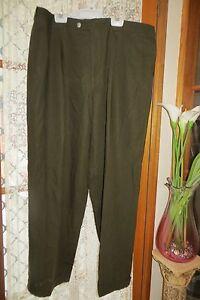 VINTAGE-CIRO-Uomo-Brown-Dress-STYLE-PANTS-Size-38