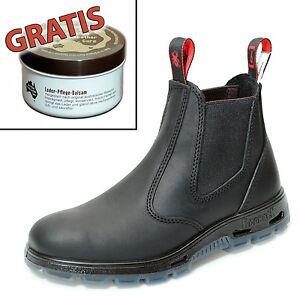 Redback-Farm-amp-Country-Chelsea-Work-Boots-Stiefelette-UBBK-Schwarz-Lederpflege