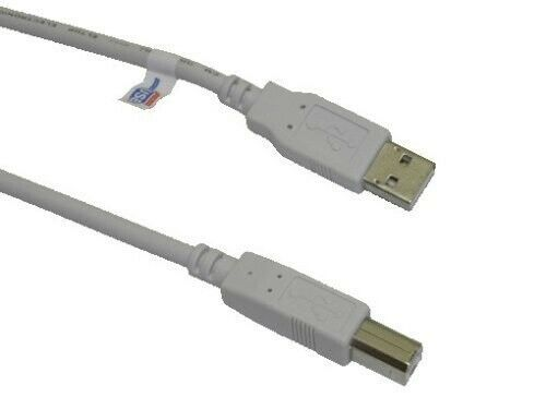 USB 2.0 10ft AB Printer//Device Cable