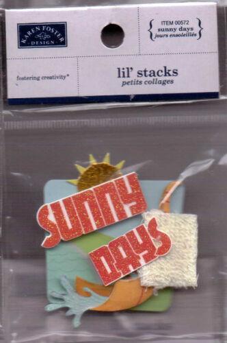 Karen Foster Designs Lil/' Stacks~various designs~Holiday Sports~Cute!!