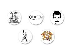 Lot Badge Button Ø38mm Queen Freddy Mercury UK Rock We Will Rock You