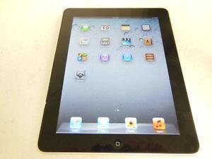 Wi-Fi 9.7in Black Good Working Condition Lot of 2x Apple iPad 1st Gen 16GB