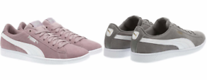 NEW-Puma-Women-039-s-Vikky-Suede-Sneaker-Shoes-Variety