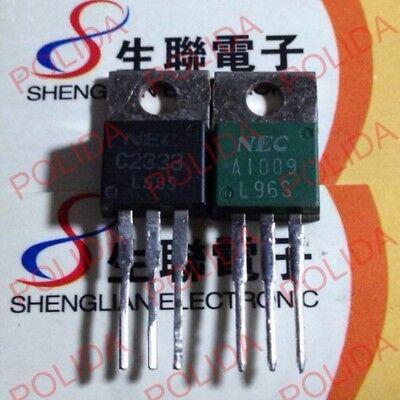 1pairs OR 2PCS  Transistor NEC TO-220 2SA1383//2SC3514 A1383//C3514