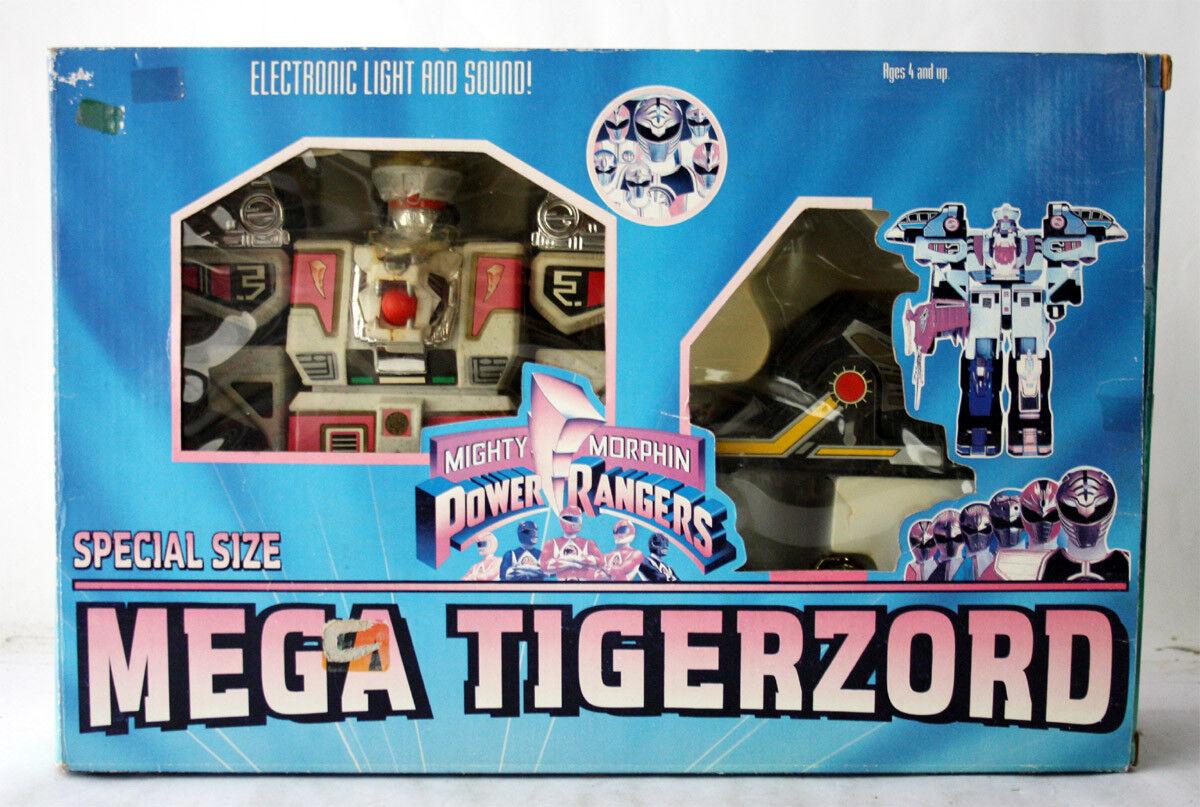 Rara De colección años 90 Power Rangers Mega Tigerzord Ko Nuevo en Caja