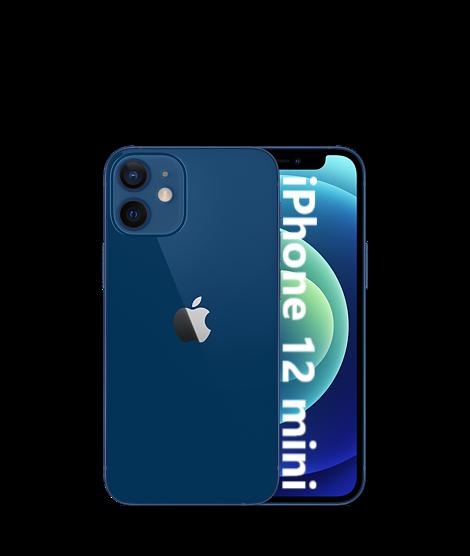 iPhone: Apple iPhone 12 mini 5G 128GB NUOVO Originale Smartphone iOS 14 BLUE blu