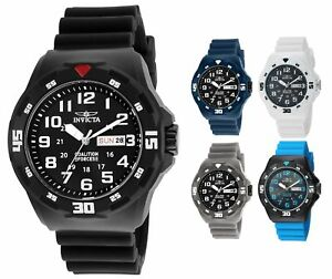 Invicta-Men-039-s-Coalition-Forces-45mm-ABS-Rubber-Watch-Choice-of-Color