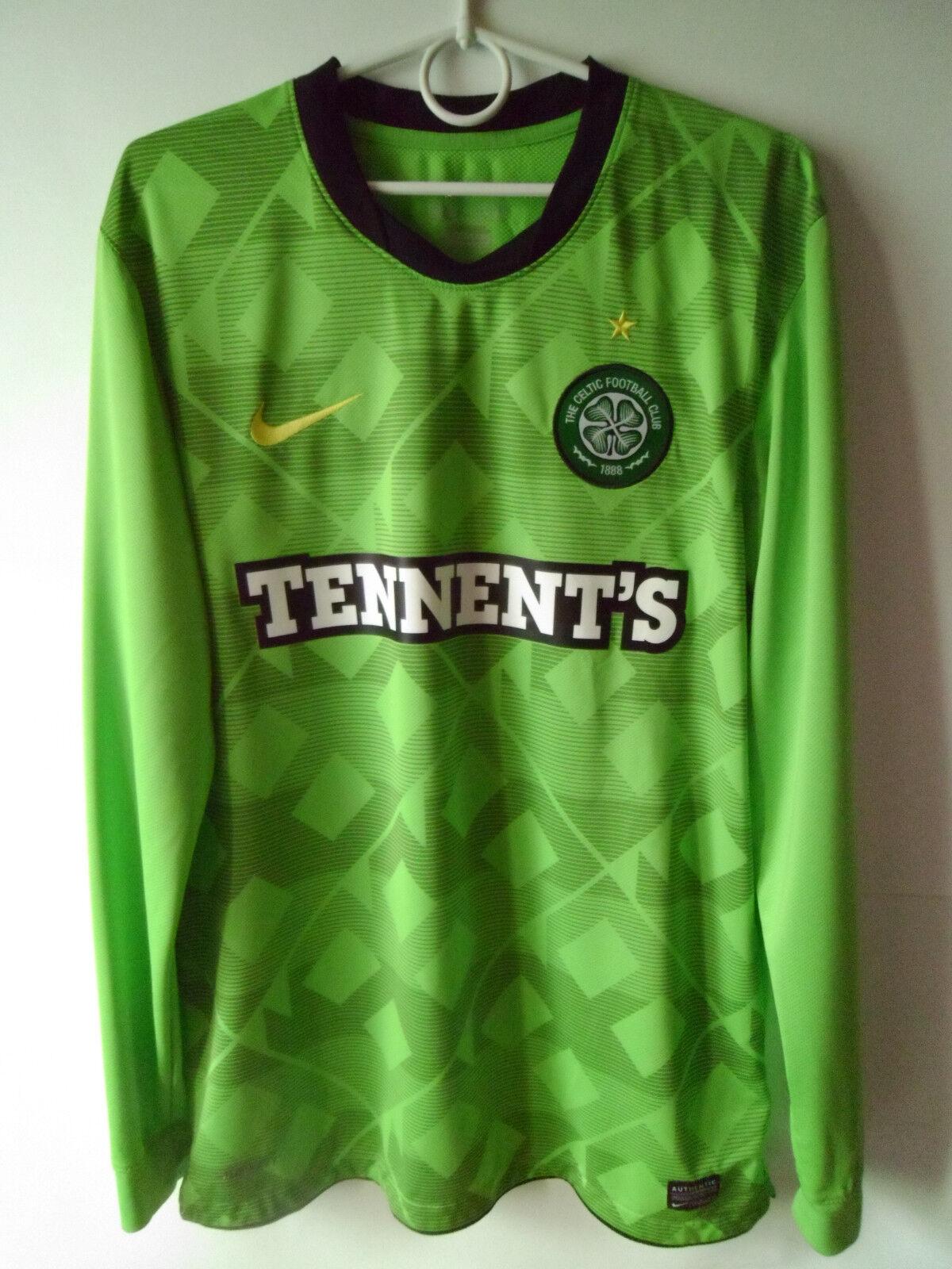 EXCELLENT Celtic Glasgow Long Sleeve Jersey Umbro Football Shirt Size S M L b0f07853f