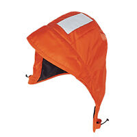 Mustang Classic Insulated Foul Weather Hood - Universal - Orange