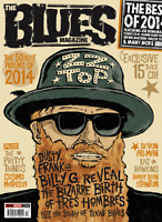 Blues Magazine + 15 Track Cd Tres Hombres Texas Blues Zz Top Pretty Things Candi