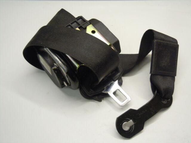 Audi A8 D2 Front OS Right Seat Belt Black 4D0857706R