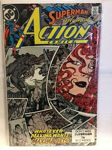 Action-Comics-645-VF-1st-Print-DC-Comics