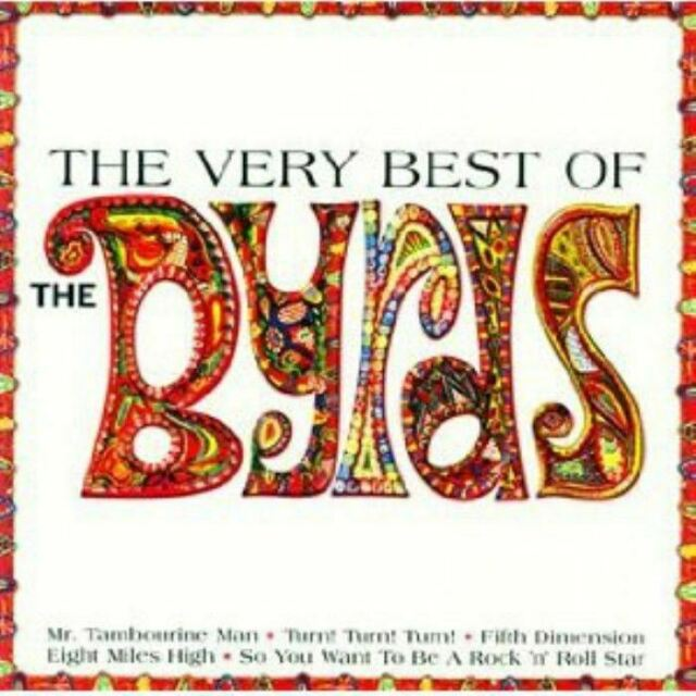 THE BYRDS the very best of (CD, compilation) greatest hits, folk rock, psych,