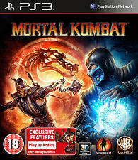 Mortal Kombat PS3 *in Excellent Condition*