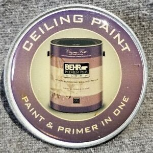 Details About Lmh Pinback Pin Home Depot Employee Behr Ceiling Paint Primer In One 1 1 2