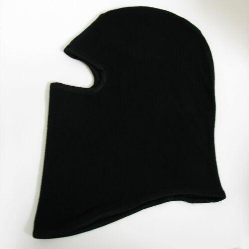 Fleece Face Mask Black Balaclava Full Neck Warm Cap Hat Motorcycle Hunting Ski