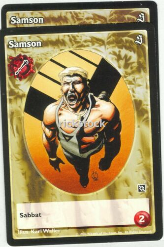 Samson x2 Ventrue antitribu SE VTES Jyhad