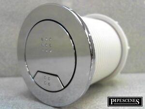 Derwent macdee kayla dual flush air toilet cistern push button