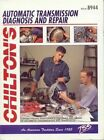 Auto Transmission, Transaxles Diagnosis and Repair Manual by Chilton, The Nichols/Chilton, Jacques Gordon, Chilton Book Company, Chilton Automotive Books, Kevin M G Maher (Paperback, 1998)