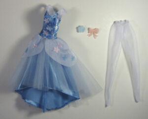 Disney-Store-Classic-Doll-Clothes-Cinderella-Ballgown-Ballet-Ballerina-Princess