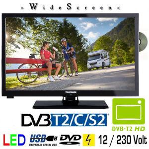 telefunken l24h274 dvd led fernseher 24 zoll dvb s s2 t2 c. Black Bedroom Furniture Sets. Home Design Ideas