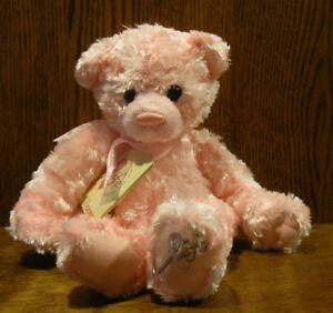 Gund-Plush-74950-LIFE-BEAR-12-034-high-Breast-Cancer-Charitity-NEW-tags