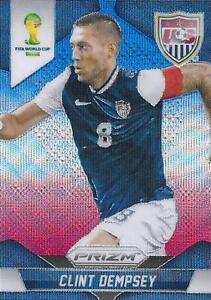Base # 69 Clint Dempsey Panini Prizm World Cup 2014 Brazil United States