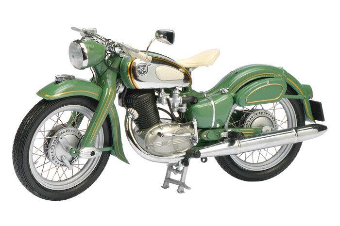 NSU MAX solista verde MOTORCYCLE 1:10 MODEL 6635 Schuco