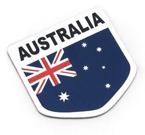 Sticker-Aufkleber-Emblem-Australien-Australia-Auto-Metall-selbstklebend-3D-Logo