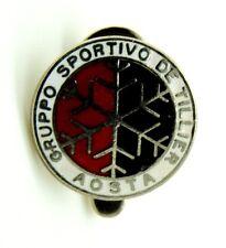 Distintivo Gruppo Sportivo De Tillier – Aosta, Diametro cm 1,6