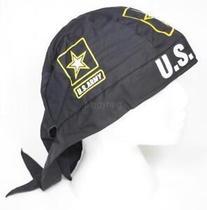 skull cap hat do du doo rag coyotes sweat band USA made