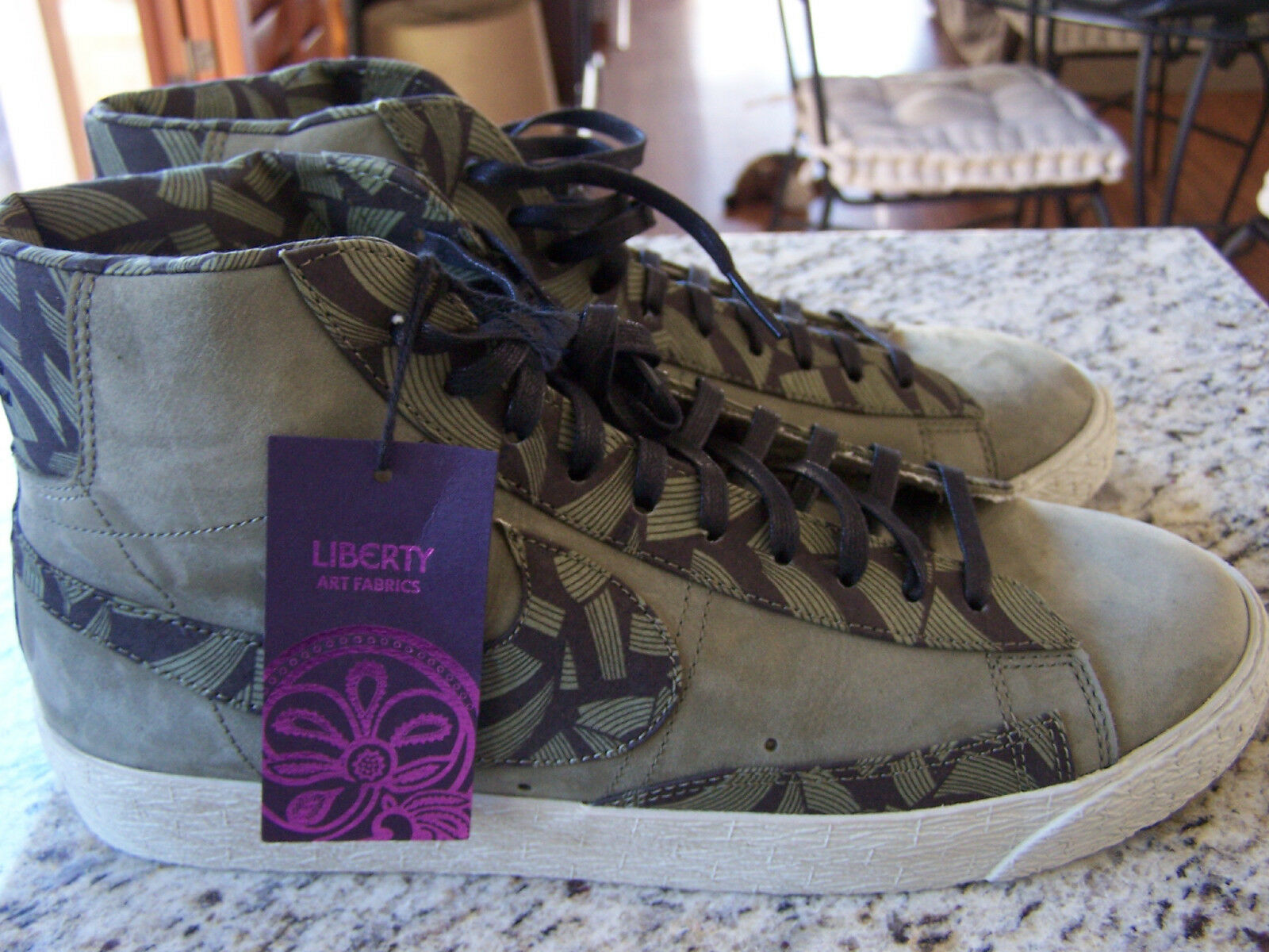 les tissus nike liberty art baskets nike tissus taille 9.5 formateurs b52452
