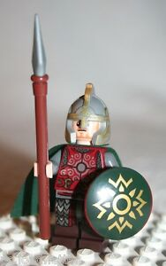 Lego-EOMER-SHIELD-SPEAR-MINIFIGURE-from-Lord-of-Rings-Uruk-hai-Army-9471