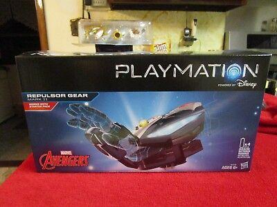 Playmation Marvel Avengers Repulsor Gear Mark II  Iron Man Works w//Starter Pack