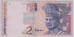 Mazuma *M905 Malaysia 10th $2 DJ4787488 1st Prefix GEF