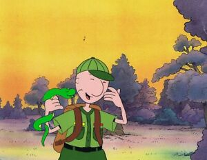 DOUG-FUNNIE-Original-Production-Cel-Cell-Animation-1990-039-s-Nickelodeon-Snake