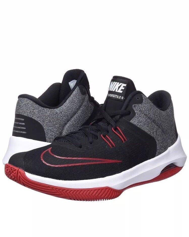 New Nike Air Versitile II 2 University Red Black Men's Basketball shoes 11 12 13