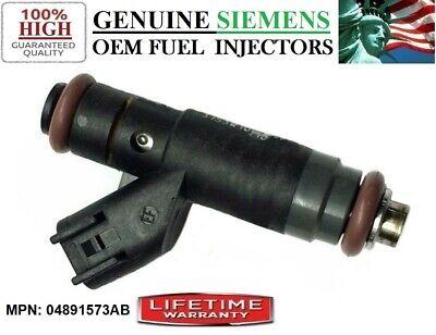 Reman OEM Dodge Chrysler Siemens 4x Fuel Injectors 04891573AB