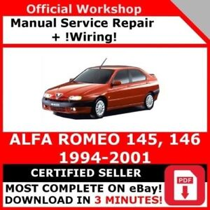 Details about # FACTORY WORKSHOP SERVICE REPAIR MANUAL ALFA ROMEO 145 on