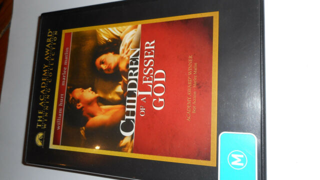 CHILDREN OF A LESSER GOD DVD